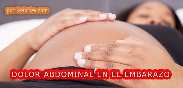 Dolor Abdominal en el Embarazo
