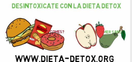 Dieta Detox Cómo dejar de engordar