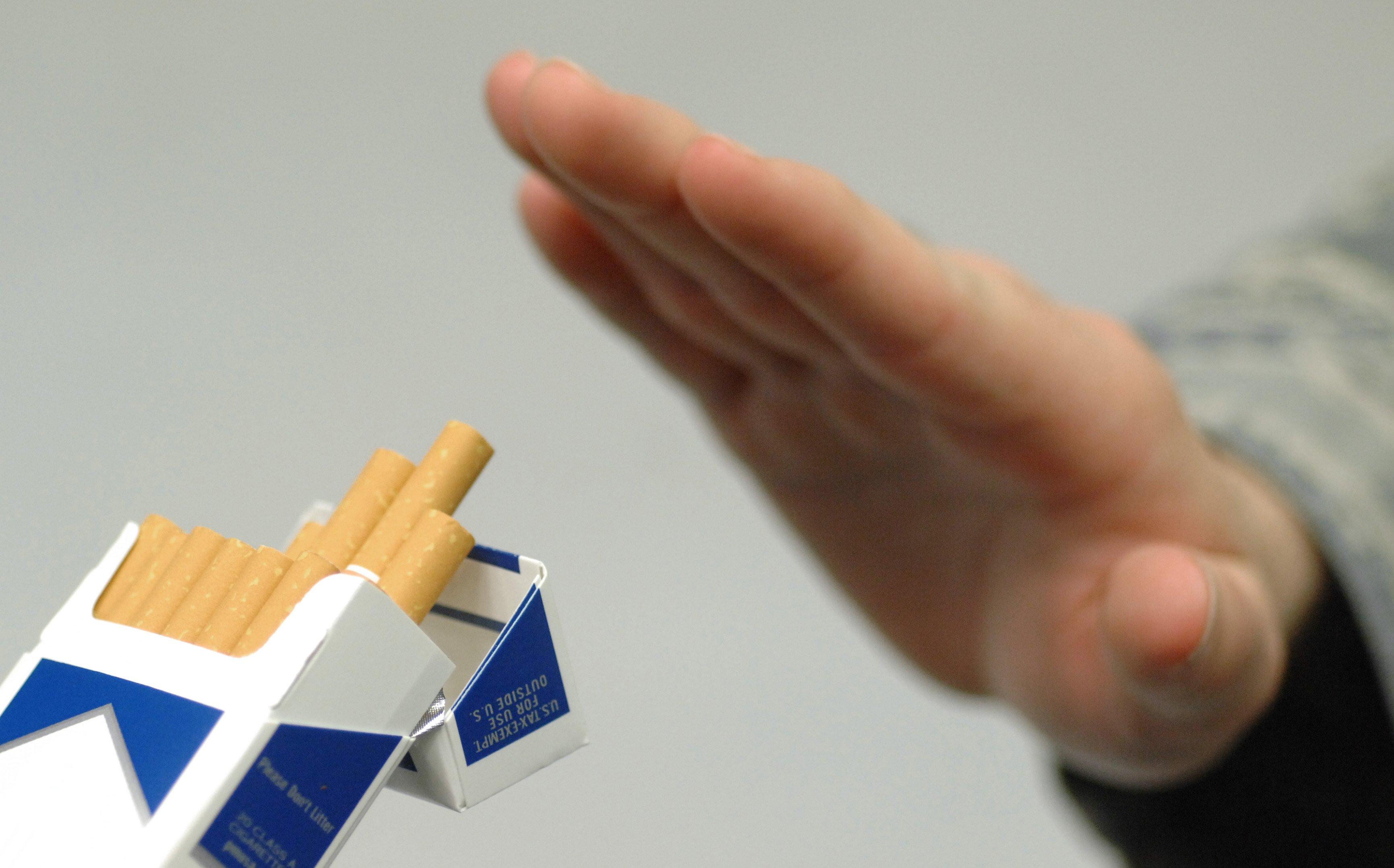 Ha dejado a fumar duele el vientre que hacer